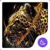 Fire Leopard Wolf--APUS Launcher fashion theme icon
