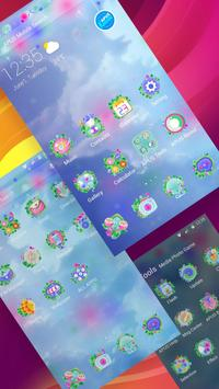 Dream Green Plant Nature--APUS Launcher theme apk screenshot