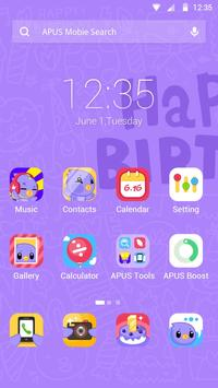 Happy Birthday theme for APUS poster