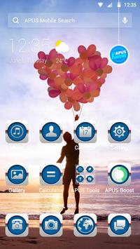 Happy time-APUS Launcher theme poster
