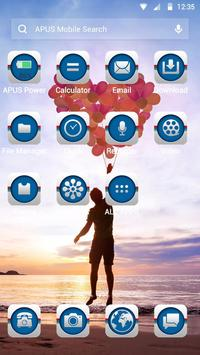 Happy time-APUS Launcher theme apk screenshot