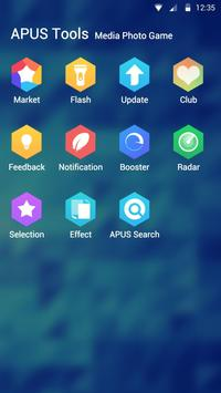 Hexagram theme for APUS screenshot 2