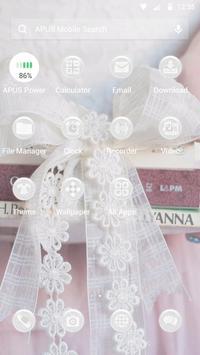 Fine-APUS Launcher theme apk screenshot