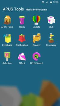 LOWPOLY STYLE theme for APUS apk screenshot
