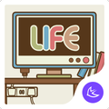 Cute Simple Life Theme for Android