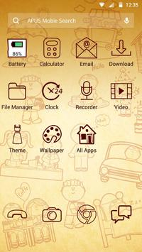 Life Time theme for APUS apk screenshot