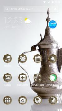 MAINROCK-APUS Launcher theme poster