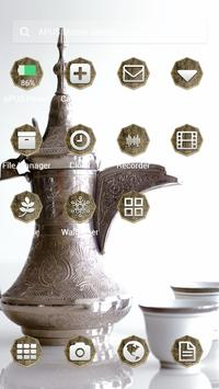 MAINROCK-APUS Launcher theme apk screenshot