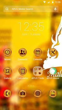 Malaysia-APUS Launcher theme poster