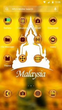 Malaysia-APUS Launcher theme apk screenshot