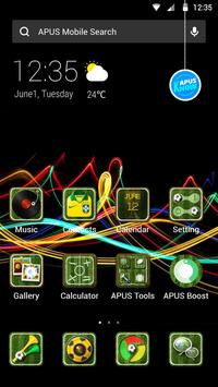 CHARMING-APUS Launcher theme poster
