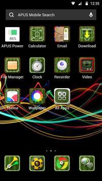 CHARMING-APUS Launcher theme screenshot 1