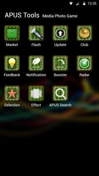 CHARMING-APUS Launcher theme apk screenshot