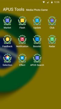 Football-APUS Launcher theme apk screenshot