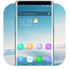Blue Smooth Business  APUS  theme & HD wallpapers-icoon
