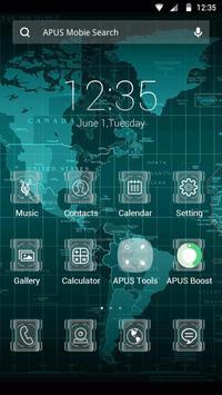 SCIENCE-APUS Launcher theme poster