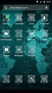 SCIENCE-APUS Launcher theme screenshot 1