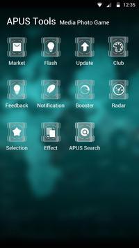 SCIENCE-APUS Launcher theme screenshot 2