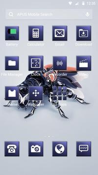 Science-APUS Launcher theme apk screenshot