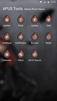 Silent-APUS Launcher theme apk screenshot