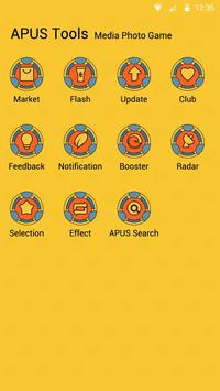 Space Fortress theme for APUS apk screenshot