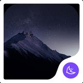 QUIET STAR-APUS Launcher theme icon