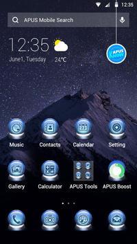 QUIET STAR-APUS Launcher theme poster