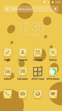 Sponge Boy theme for APUS poster