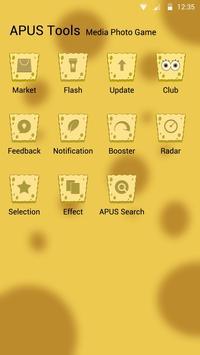 Sponge Boy theme for APUS apk screenshot