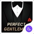 Gentleman-APUS Launcher theme for Andriod