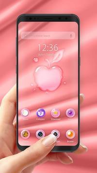 Pink Phone -- APUS Launcher Free Theme screenshot 3