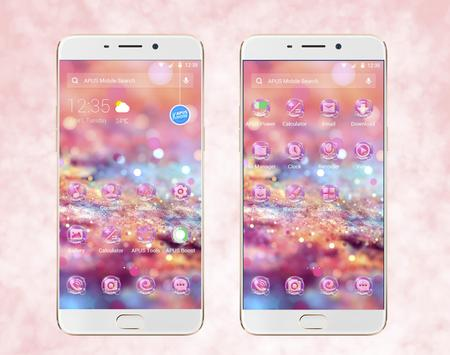 Pink Love Sweet theme & HD wallpapers 海报