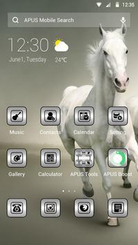 Pure APUS Launcher theme poster