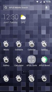 Pure-APUS Launcher theme poster