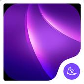 Purple-APUS Launcher theme icon