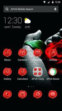 Rose|APUS Launcher theme poster