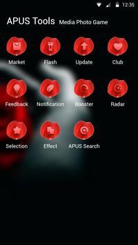 Rose|APUS Launcher theme screenshot 2