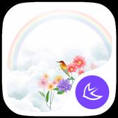 Rainbow-APUS Launcher theme icon