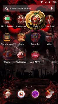 Red Scary Pumpkin Halloween theme🎃 screenshot 1