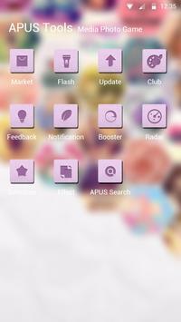 nostomania-APUS Launcher theme screenshot 2