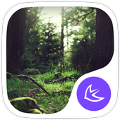 Green Fairy Tale Forest theme & wallpapers icon