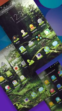 Green Fairy Tale Forest theme & wallpapers screenshot 1
