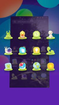 Green Fairy Tale Forest theme & wallpapers apk screenshot