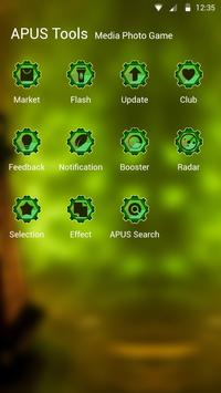 Terror-APUS Launcher theme apk screenshot