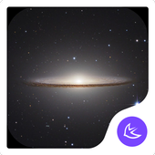 lonely space - APUS launcher theme icon