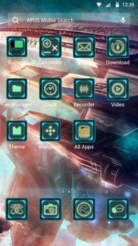 Universe-APUS Launcher theme apk screenshot