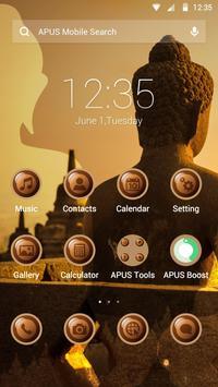 Zen-APUS Launcher theme poster