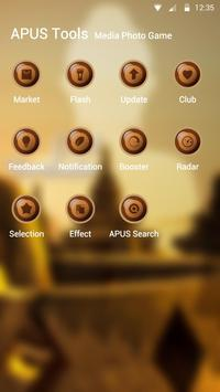 Zen-APUS Launcher theme screenshot 2
