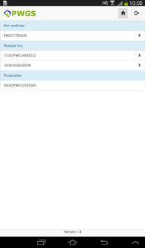 PWGS apk screenshot