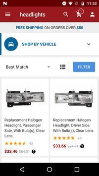 Auto Parts screenshot 1